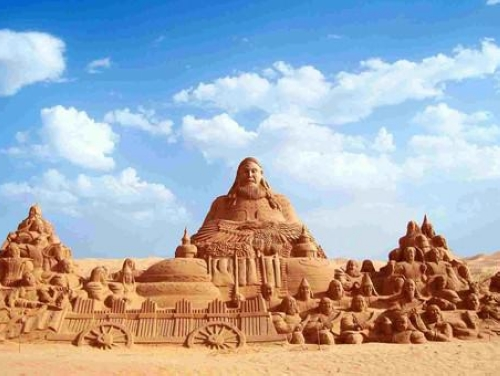 Wuhai China  city photos gallery : Wuhai, a colorful heaven in the Gobi Desert