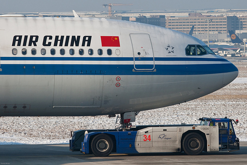 Air China starts the second flight to Africa