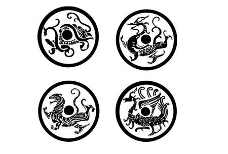 Four Symbols Four Mythological Creatures In China Cits